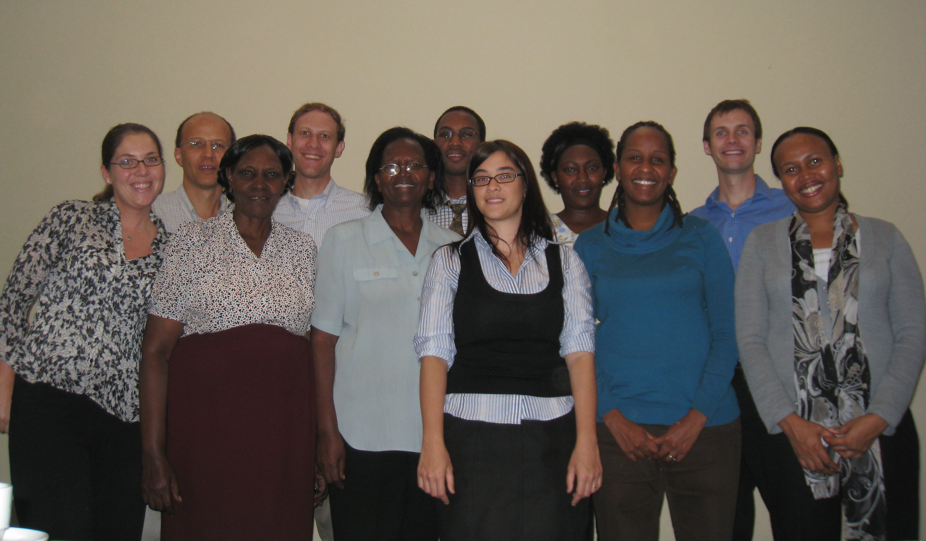Muthaiga staff and GlobalHealth Lab students